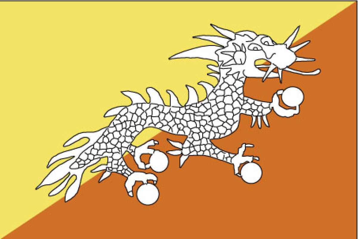 Bhutan Flag Date Of Adoption Bhutan Flag Description And Image