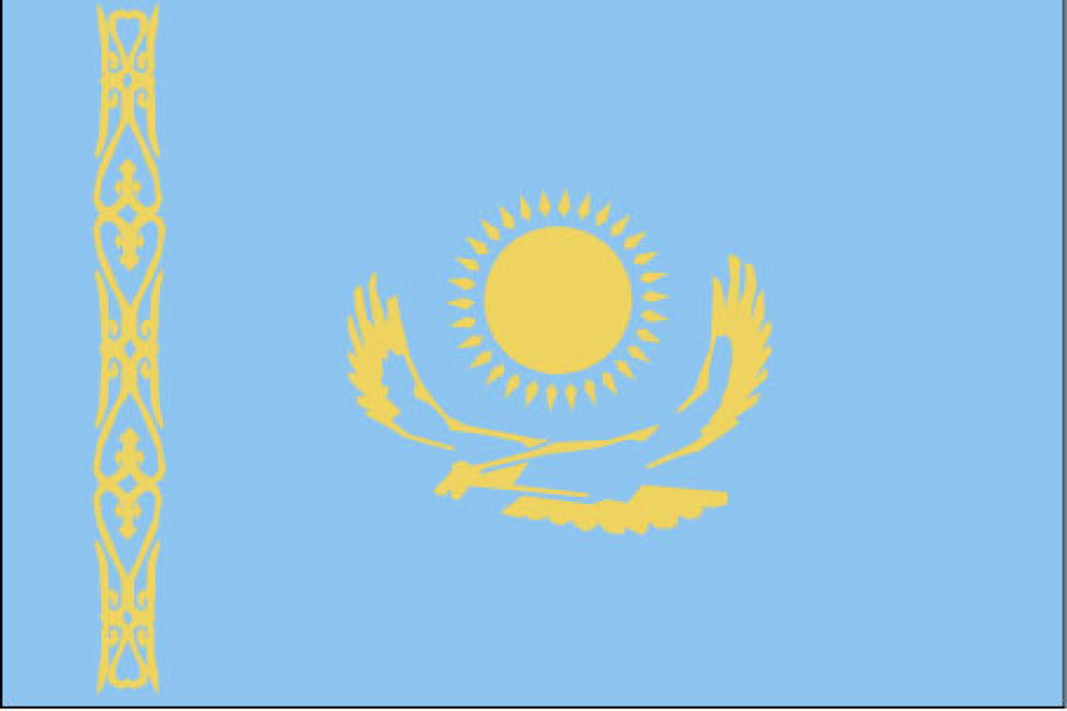 Kazakhstan flag date of adoption kazakhstan flag description and kazakhstan flag description and image countryreports buycottarizona